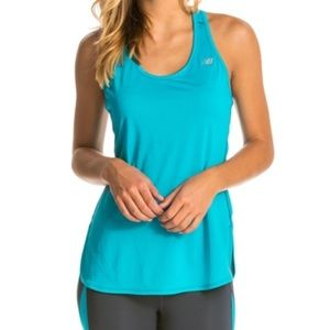 New Balance Accelerate Tunic in Turquoise Teal